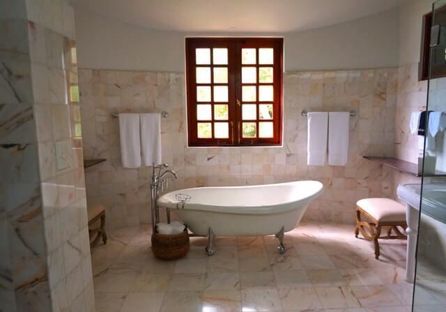 Natuurstenen Badkamer Onderhoud